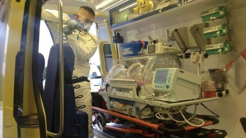 チェコの病院や救急車
